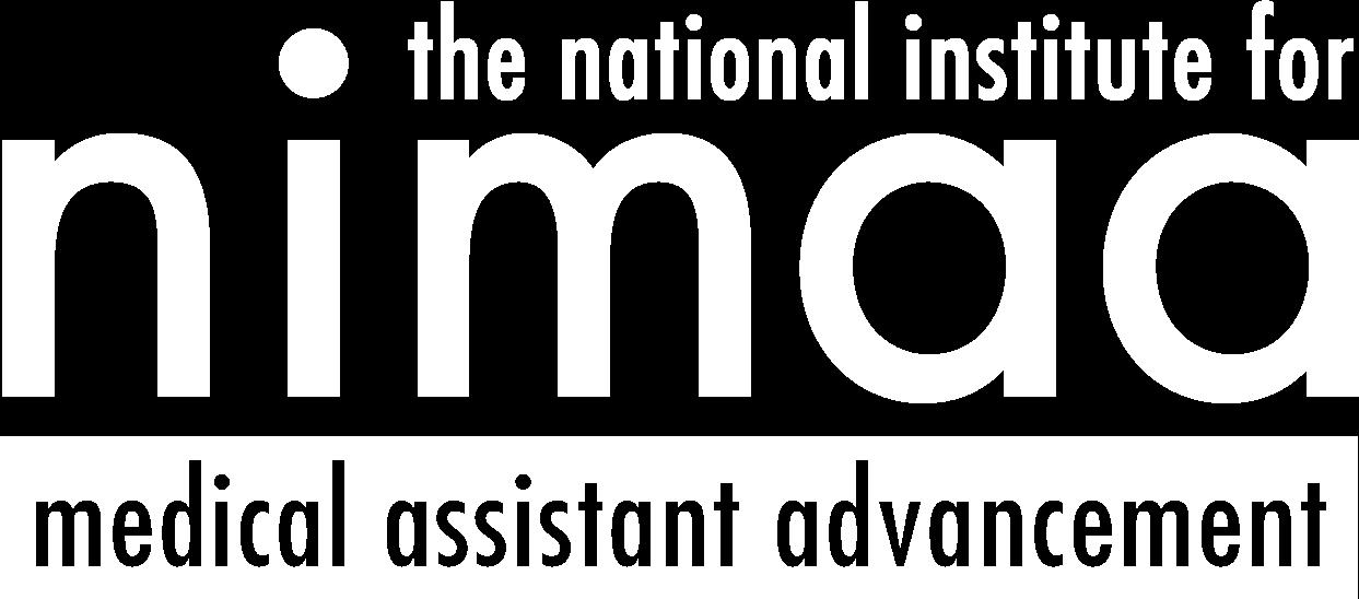 NIMAA logo white